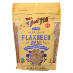 HGR02153187 - Bob's Red MillFlaxseed Meal - Gluten Free - Case of 4 - 16 oz.