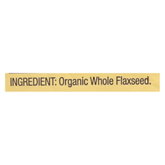 HGR02153336 - Bob's Red MillOrganic Flaxseed Meal - Brown - Case of 4 - 16 oz.