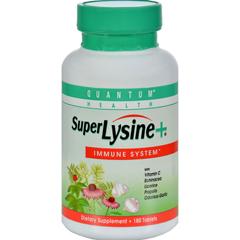 HGR0215426 - Quantum ResearchQuantum Super Lysine Plus Immune System - 180 Tablets