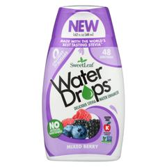 HGR02158046 - Sweet Leaf - Water Drops - Mixed Berry - 1.62 fl oz.