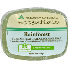 HGR0216747 - Clearly NaturalGlycerine Bar Soap Rainforest - 4 oz