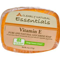HGR0216820 - Clearly NaturalGlycerine Bar Soap Vitamin E - 4 oz
