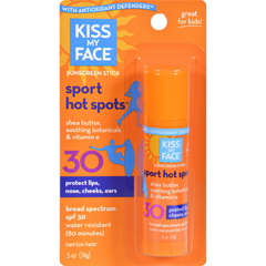 HGR0216895 - Kiss My FaceSun Care HotSpots SPF 30 - 0.5 fl oz - Case of 6