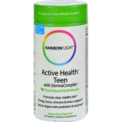 HGR0217133 - Rainbow Light - Active Health Teen Multivitamin - 90 Tablets