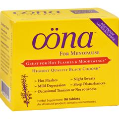 HGR0217166 - OonaMenopause Herbal Supplement - 96 Tablets