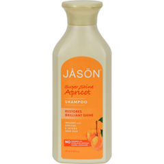 HGR0217208 - Jason Natural ProductsSuper Shine Natural Shampoo Apricot - 16 fl oz