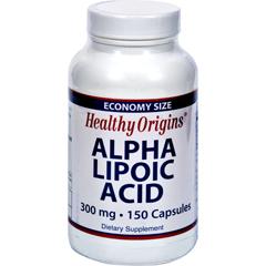 HGR0217380 - Healthy OriginsAlpha Lipoic Acid - 300 Mg - 150 Caps