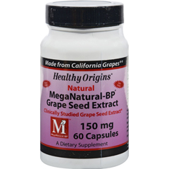 HGR0217612 - Healthy OriginsMega Natural-BP Grape Seed Extract - 150 mg - 60 Capsules