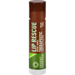 HGR0219782 - Desert EssenceLip Rescue Therapeutic with Tea Tree Oil - 0.15 oz - Case of 24