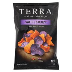 HGR02206902 - Terra ChipsChip - Sweets & Blues - Sea Salt - Case of 12 - 5.75 oz.