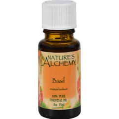 HGR0221424 - Nature's Alchemy100% Pure Essential Oil Basil - 0.5 fl oz