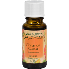 HGR0221481 - Nature's Alchemy100% Pure Essential Oil Cinnamon Cassia - 0.5 fl oz