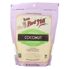 HGR02215176 - Bob's Red MillCoconut Shredded - Case of 4-12 oz.