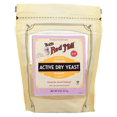 HGR02215325 - Bob's Red MillYeast Active Dry - Case of 6-8 oz.