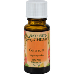 HGR0221689 - Nature's Alchemy100% Pure Essential Oil Geranium - 0.5 fl oz