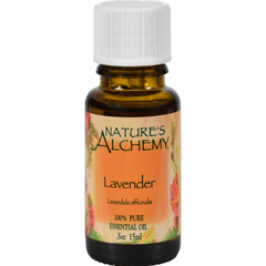 HGR0221739 - Nature's Alchemy100% Pure Essential Oil Lavender - 0.5 fl oz