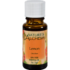HGR0221754 - Nature's Alchemy - 100% Pure Essential Oil Lemon - 0.5 fl oz