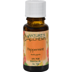 HGR0221879 - Nature's Alchemy - 100% Pure Essential Oil Peppermint - 0.5 fl oz