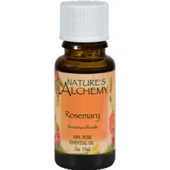 HGR0221911 - Nature's Alchemy100% Pure Essential Oil Rosemary - 0.5 fl oz