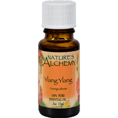 HGR0222059 - Nature's Alchemy100% Pure Essential Oil Ylang Ylang - 0.5 fl oz