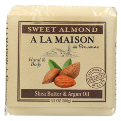 HGR02254316 - A La MaisonBar Soap - Sweet Almond - Case of 6 - 3.5 oz.