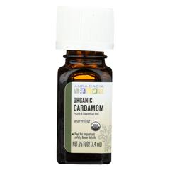 HGR02258051 - Aura Cacia - Essential Oil - Cardamom - Case of 1 - .25 fl oz.