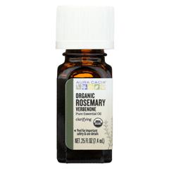 HGR02258093 - Aura CaciaEssential Oil - Rosemary, Verbenone - Case of 1 - .25 fl oz.