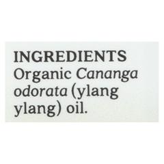 HGR02258119 - Aura Cacia - Essential Oil - Ylang Ylang Complete - Case of 1 - .25 fl oz.