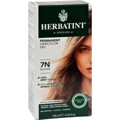 HGR0226688 - HerbatintPermanent Herbal Haircolour Gel 7N Blonde - 135 ml
