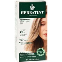 HGR0226985 - HerbatintPermanent Herbal Haircolour Gel 8C Light Ash Blonde - 135 ml