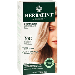 HGR0226993 - HerbatintHaircolor Kit Ash Swedish Blonde 10C - 1 Kit