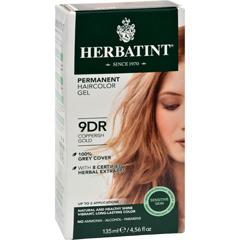 HGR0227033 - HerbatintHaircolor Kit Copperish Gold 9D - 1 Kit