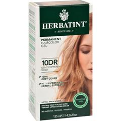 HGR0227058 - HerbatintPermanent Herbal Haircolour Gel 10 DR Light Copperish Gold - 135 ml