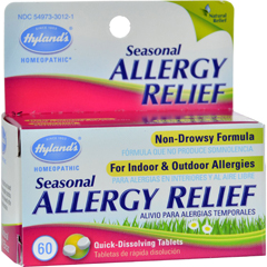 HGR0230490 - Hyland'sHylands Homepathic Seasonal Allergy Relief - 60 Tablets
