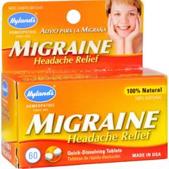 HGR0230516 - Hyland'sMigraine Headache Relief - 60 Tablets