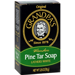 HGR0233486 - Grandpa'sPine Tar Bar Soap - 3.25 oz