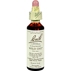 HGR0234062 - BachFlower Remedies Essence Wild Oat - 0.7 fl oz