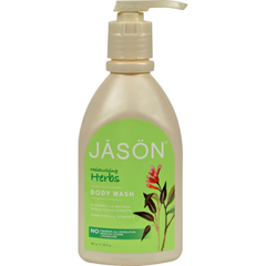 HGR0240606 - Jason Natural ProductsPure Natural Body Wash Moisturizing Herbs - 30 fl oz