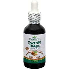 HGR0243105 - Sweet LeafLiquid Stevia Sweet Drops - Hazelnut - 2 oz
