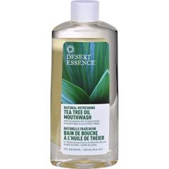 HGR0244947 - Desert EssenceTea Tree Oil Mouthwash Spearmint - 8 fl oz