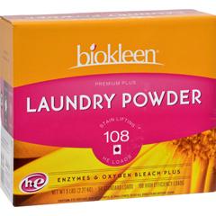 HGR0245977 - BiokleenLaundry Powder Premium Plus Stain Lifting Enzyme Formula - 5 lbs