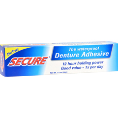 HGR0246371 - SECUREDenture Adhesive - 1.4 oz