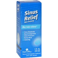 HGR0250100 - NatraBioSinus Relief Non-Drowsy - 1 fl oz