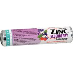 HGR0252767 - Quantum ResearchQuantum Zinc Lozenges Elderberry Raspberry - 1.2 oz - Case of 12