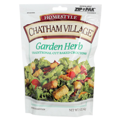HGR0258244 - Chatham Village - Traditional Cut Croutons - Garden Herb - Case of 12 - 5 oz.
