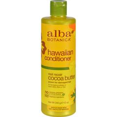 HGR0258384 - Alba BotanicaHawaiian Hair Conditioner Cocoa Butter - 12 fl oz