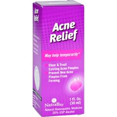 HGR0258400 - NatraBio - Acne Relief Oral Drops - 1 fl oz