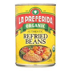 HGR0262683 - La Preferida - Organic Authentic Refried Beans - Case of 12 - 15 oz
