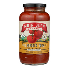 HGR0263137 - Muir Glen - Roasted Tomato Sauce - Tomato - Case of 12 - 25.5 Fl oz..