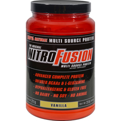 HGR0263624 - Nitro FusionMulti-Source Protein Formula Vanilla - 2 lbs